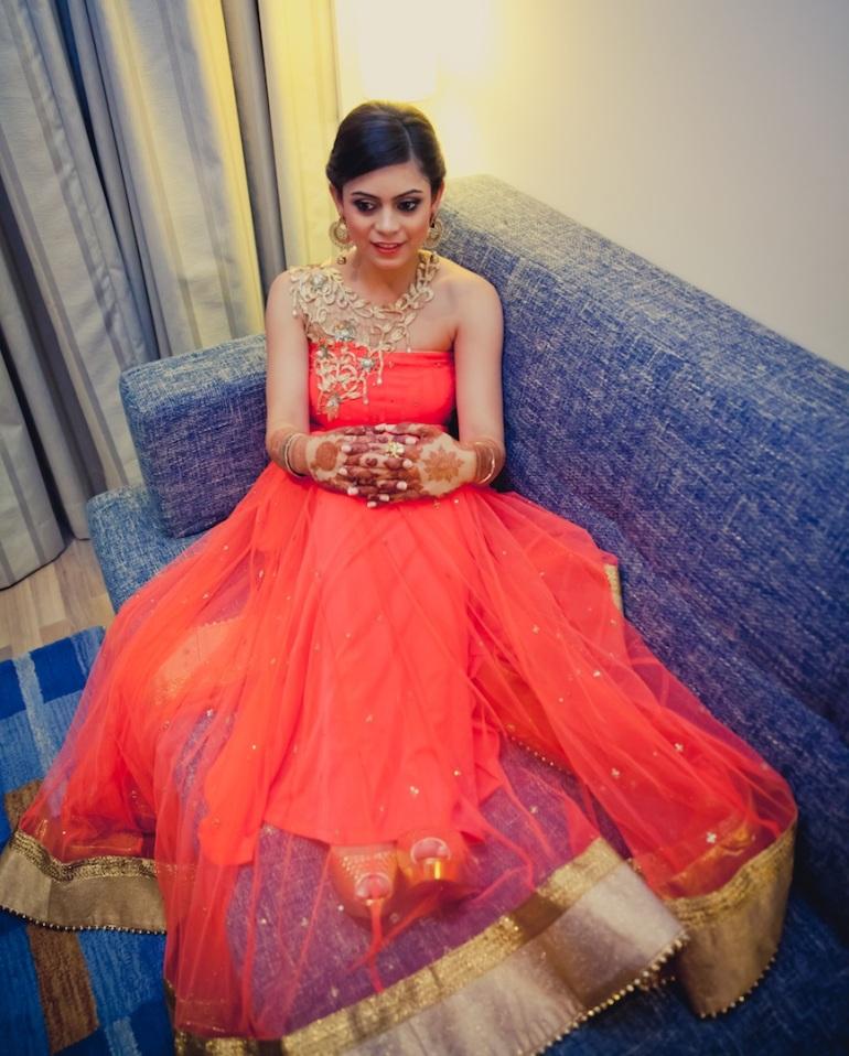 wedding wardrobe samvedna Monica Nidhi shahpur jat Mahima Bhatia photography 9