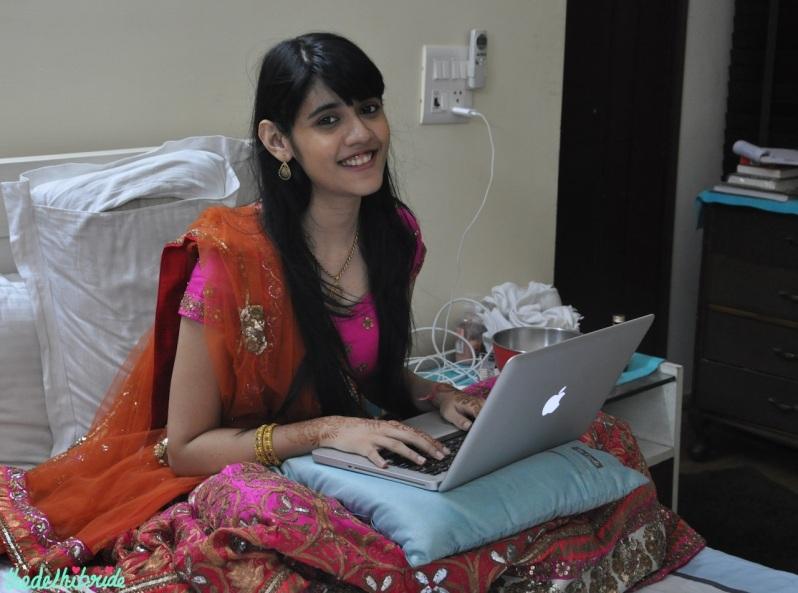 ...blogging!