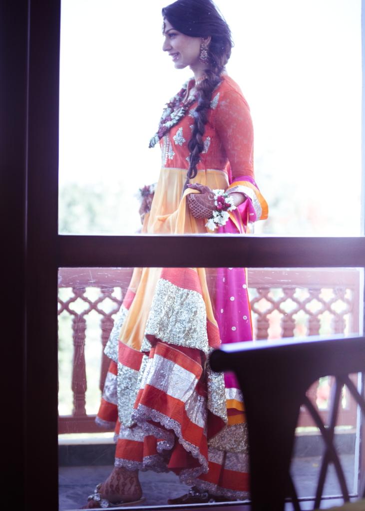 Kavita Vinita GK2 anarkali mehendi outfit Shubhi 1