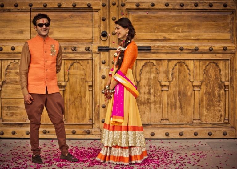 Kavita Vinita GK2 anarkali mehendi outfit Shubhi 2