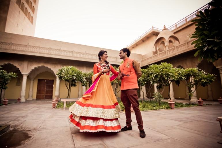 Kavita Vinita GK2 anarkali mehendi outfit Shubhi 4
