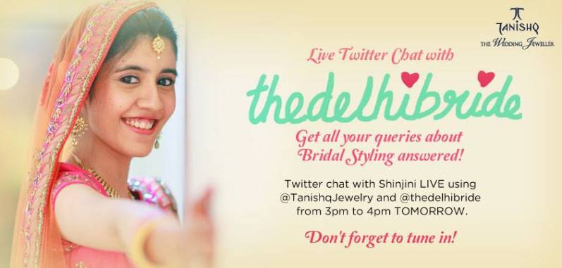 Tanishq bridal styling twitter chat