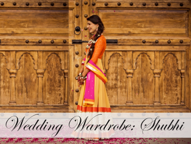 wedding wardrobe shubhi cover photo kavita vanita mehendi anarkali lehenga