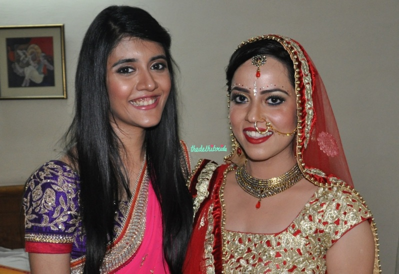 Chandni Singh bridal makeup artist review bride's room lighting 1
