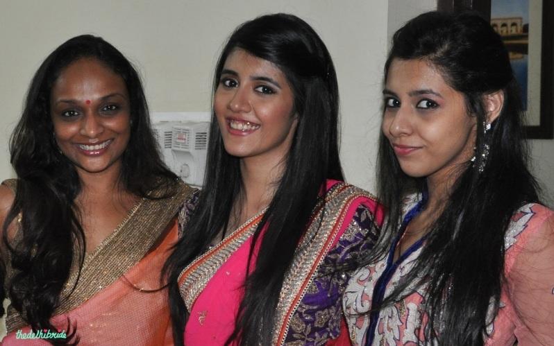Chandni Singh bridal makeup artist review bride's room lighting 3