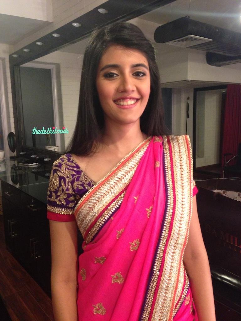 Chandni Singh bridal makeup artist review Salon lighting ...