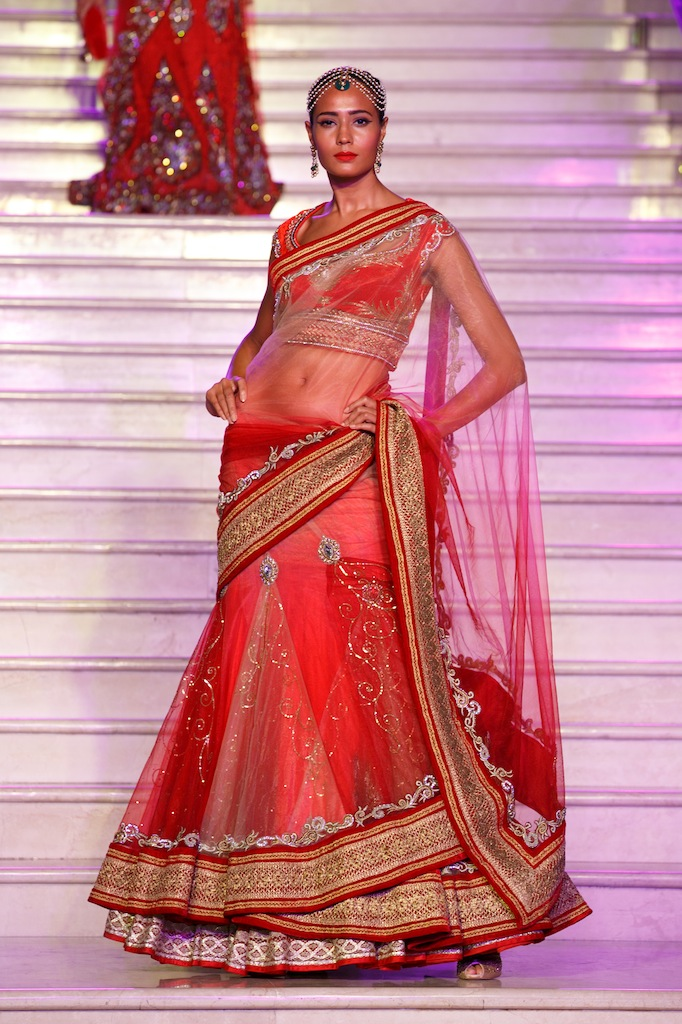 Lehenga 1 Trousseau Week 2013 fashion show