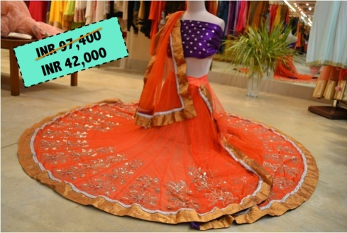 Anamika - Before 97,400 After Sale 42,000