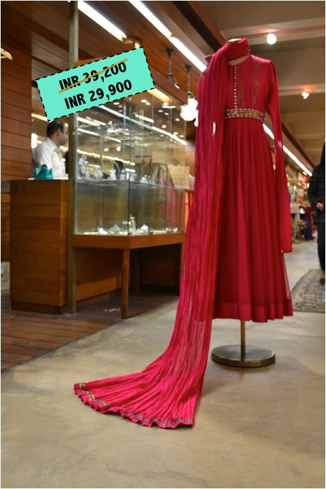 Rohit Bal Before 39,200 After Sale 29,900