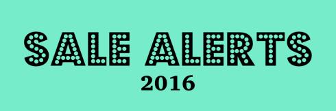 Sale Alerts 2016 cover