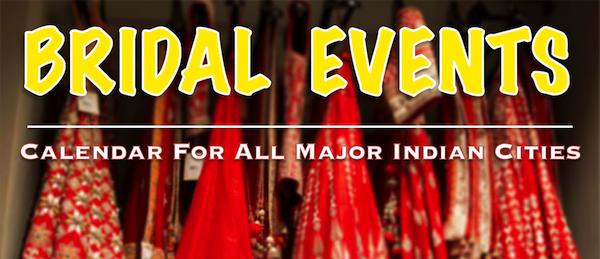 wedding exhibitions in Indian cities in 2015