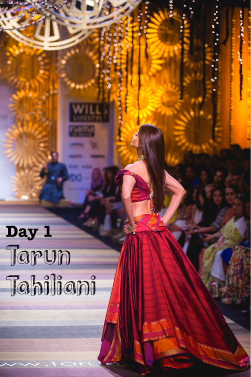 Wills Lifestyle India Fashion Week day 1 Tarun Tahiliani