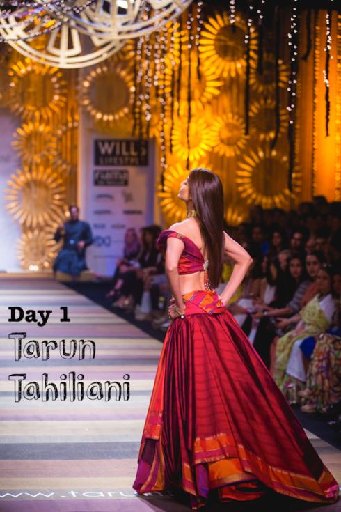 Wills Lifestyle India Fashion Week day 1 Tarun Tahiliani