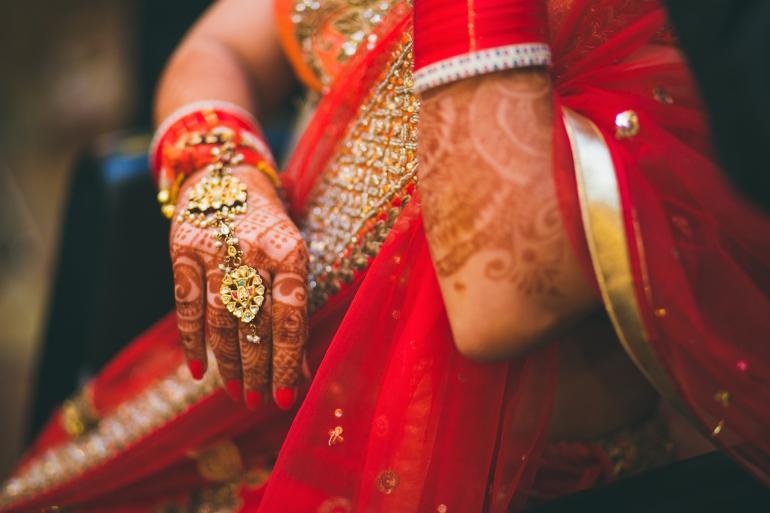 jewellery haath phool Sumedha wedding wardrobe