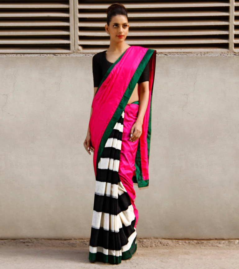 Masaba Gupta stripes sari