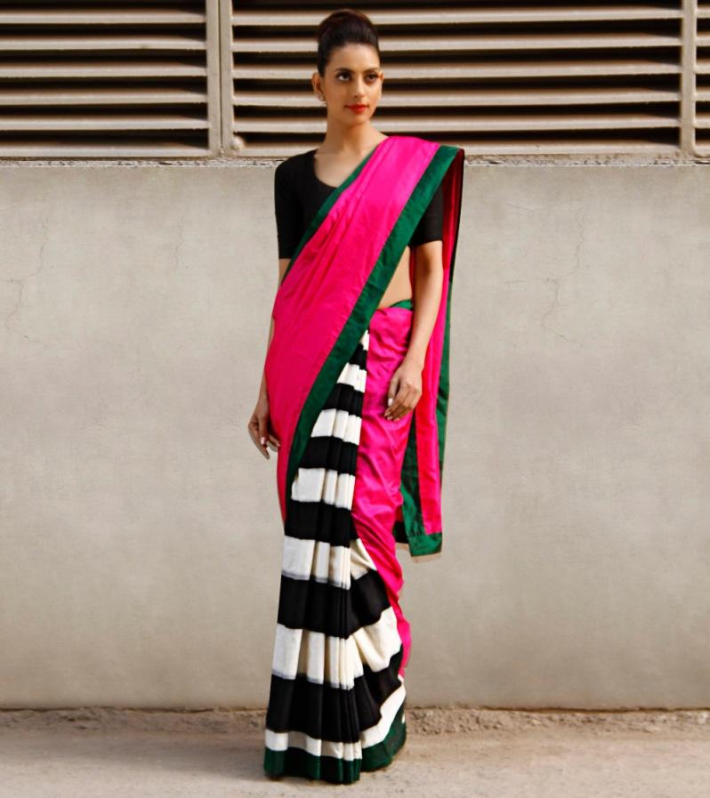 Masaba Gupta stripes sari
