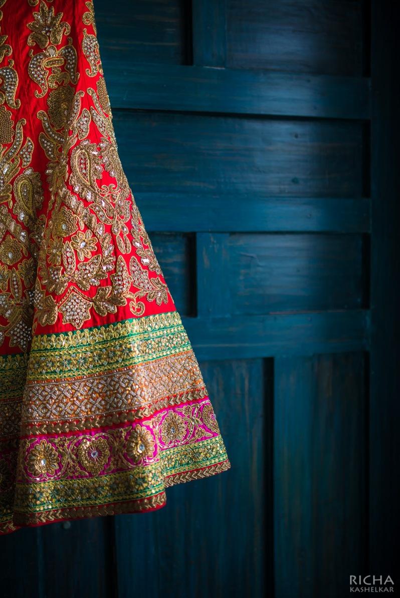 wedding lehenga artistic shot details 1 Sumedha wedding wardrobe