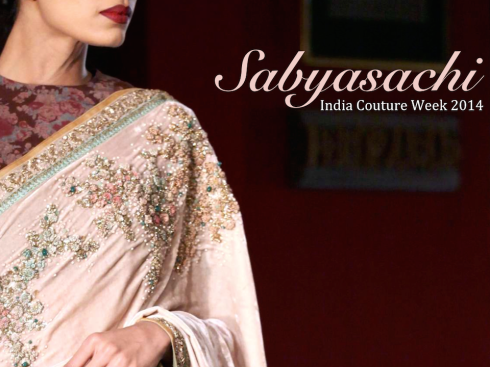 Sabyasachi India Couture Week 2014 wedding
