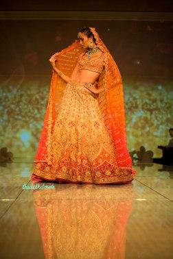 bridal ombre lehenga 2 Tarun Tahiliani India Bridal Fashion Week 2014