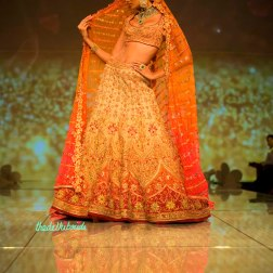 bridal ombre lehenga 2 Tarun Tahiliani India Bridal Fashion Week 2014