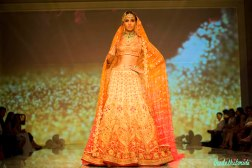 bridal ombre lehenga Tarun Tahiliani India Bridal Fashion Week 2014