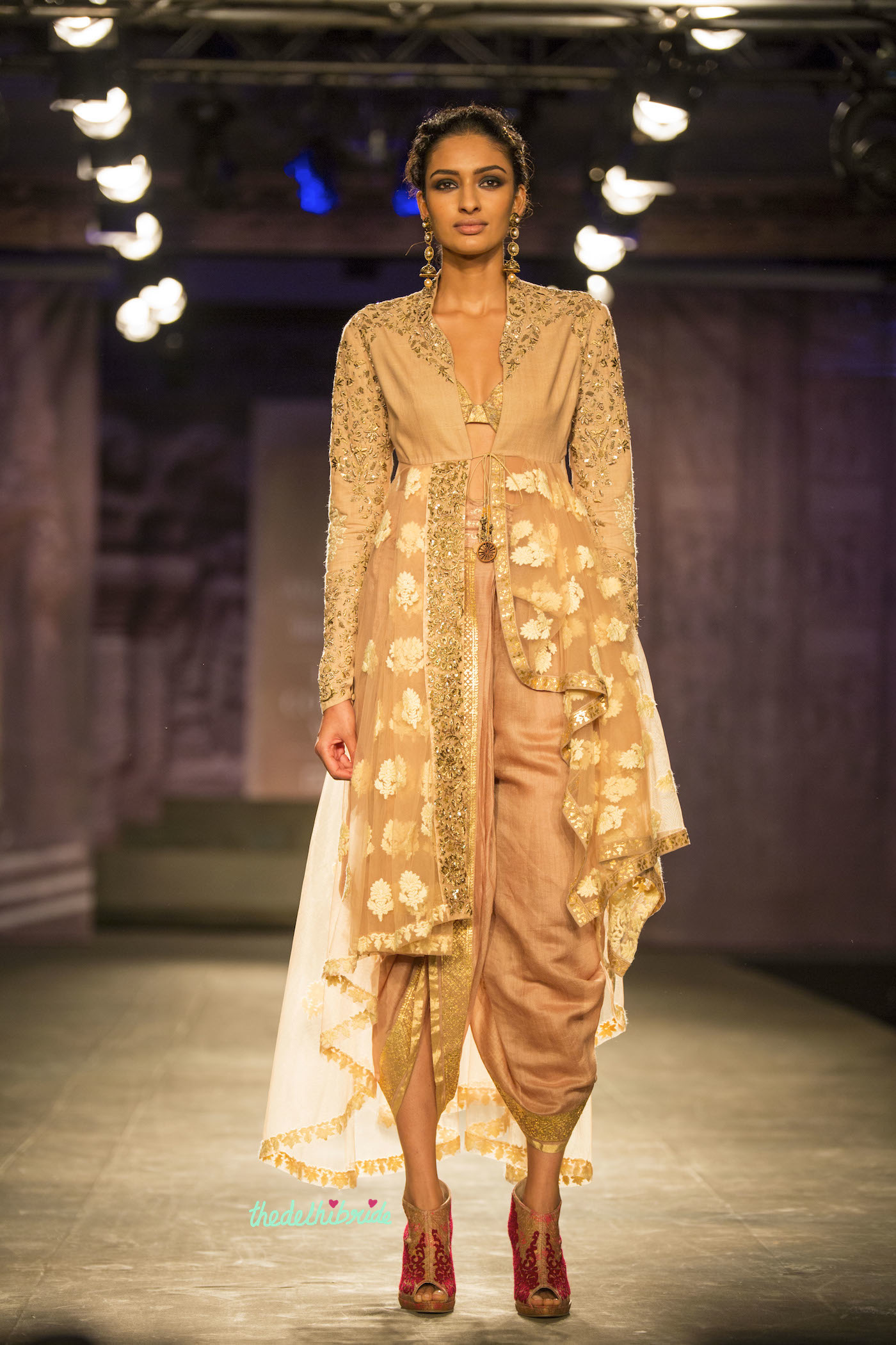 Anju Modi At Shree Raj Mahal Jewellers India Couture Week