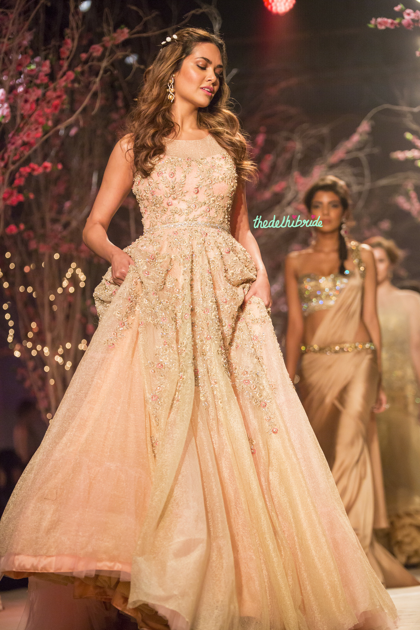 Jyotsna tiwari at india bridal fashion week 2014 for Wedding dresses online in india