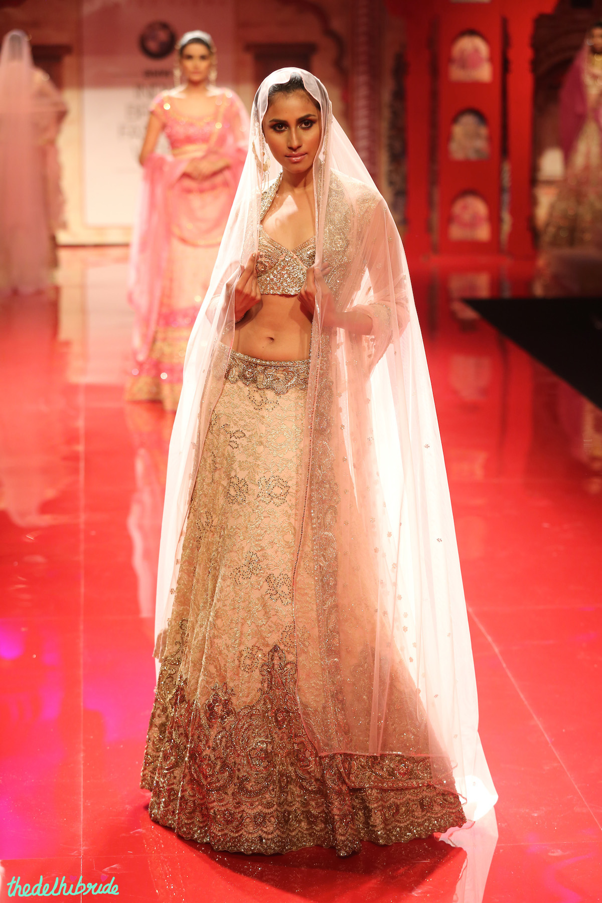 Suneet Varma at India Bridal Fashion Week 2014 ...