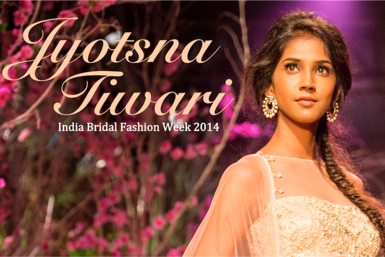 Jyotsna Tiwari India Bridal Fashion Week 2014