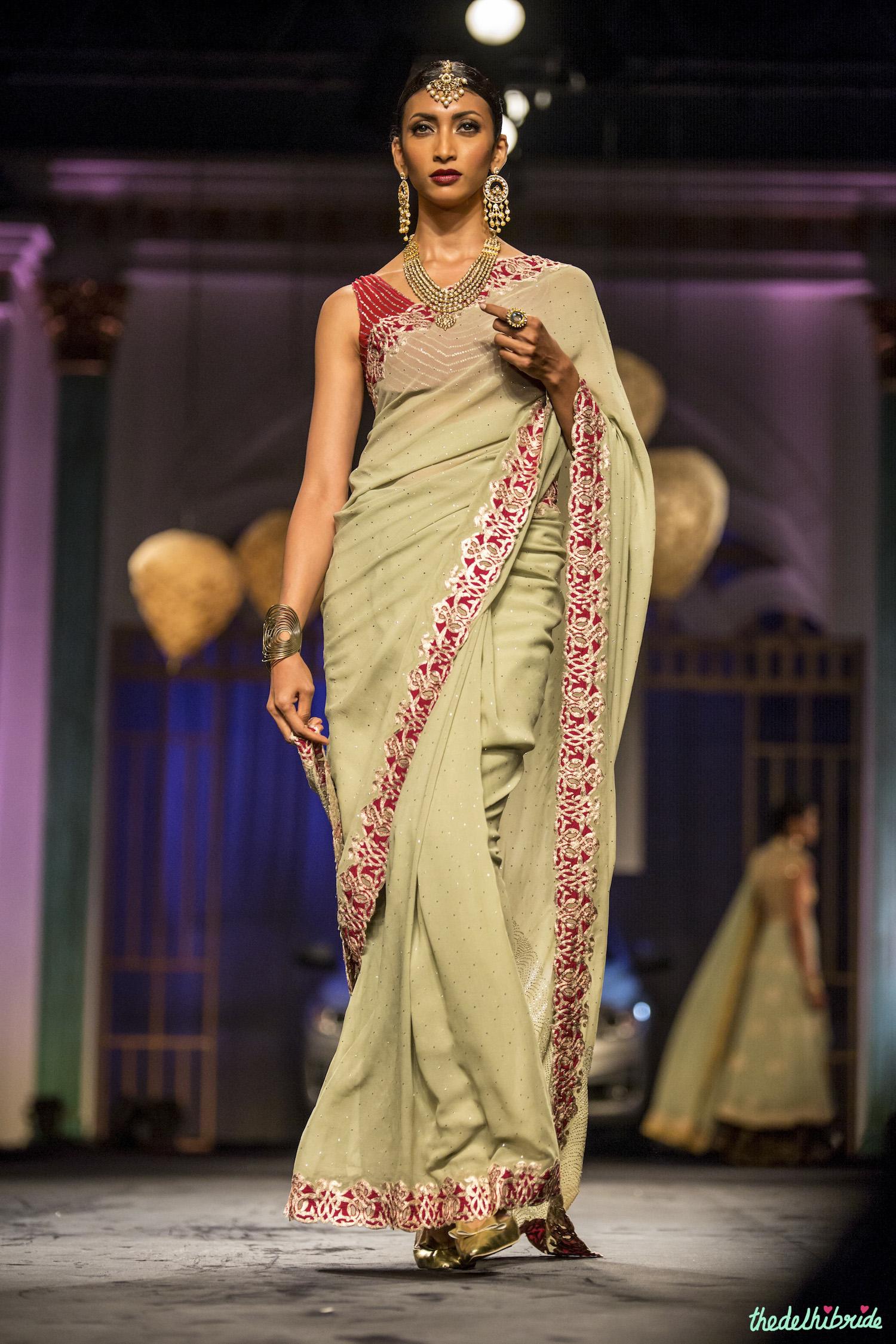 meera  u0026 muzaffar ali at india bridal fashion week 2014