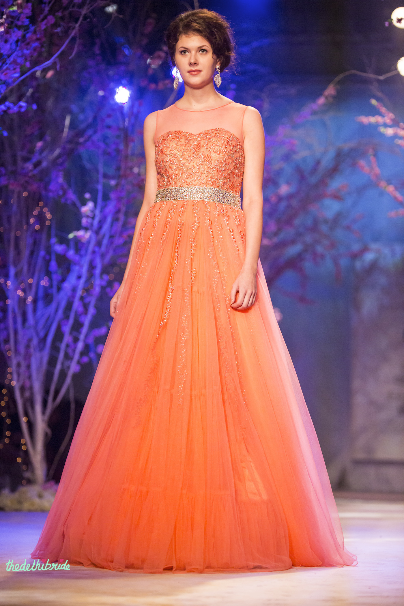 Jyotsna Tiwari at India Bridal Fashion Week 2014 – An Indian ...