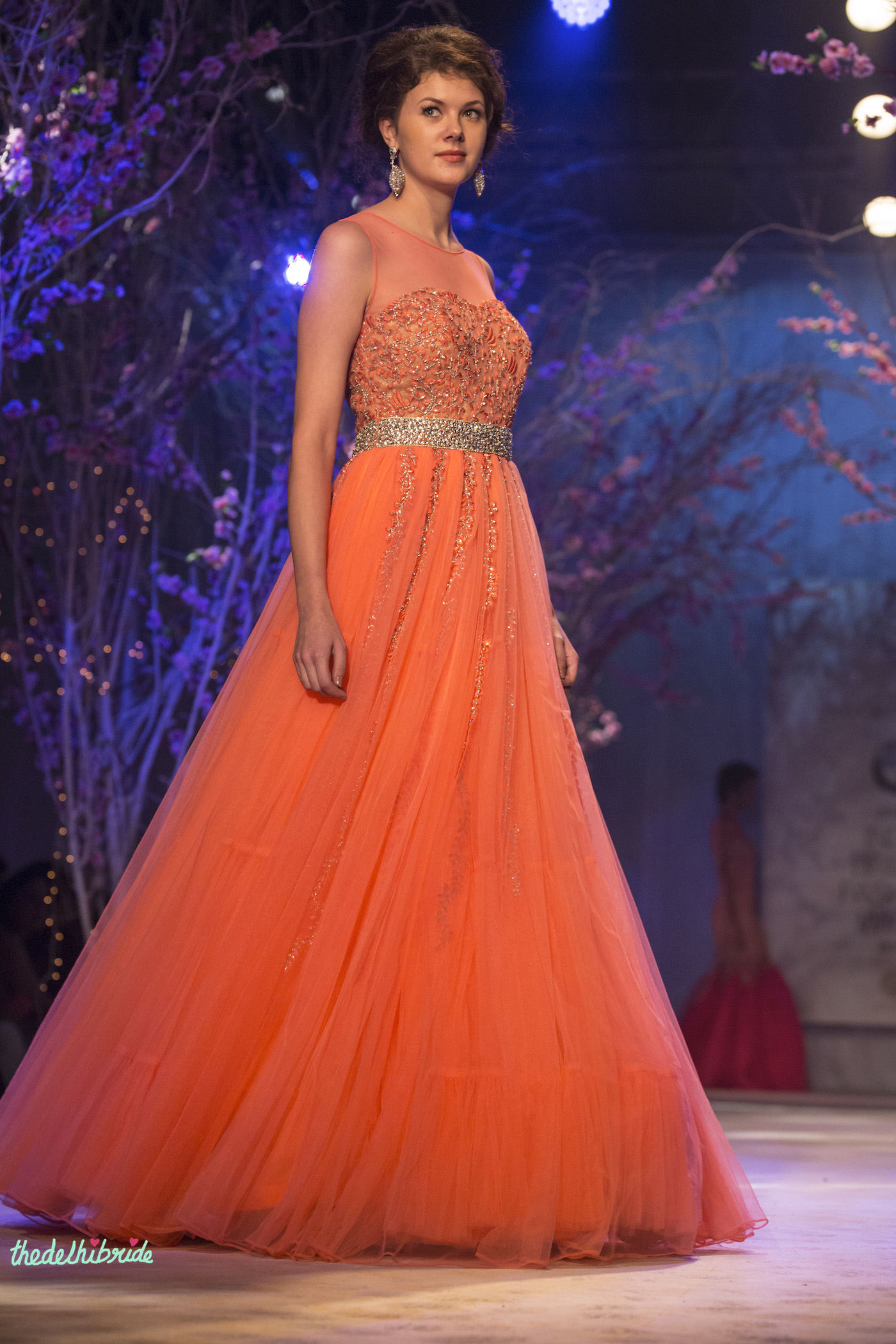 Jyotsna tiwari at india bridal fashion week 2014 an for Wedding dresses online in india