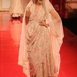 Chantilly lace soft pink ensemble
