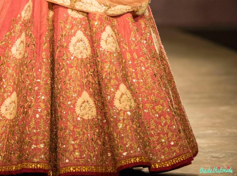 Pastel pink lehenga 3 Anju Modi India Couture Week 2014