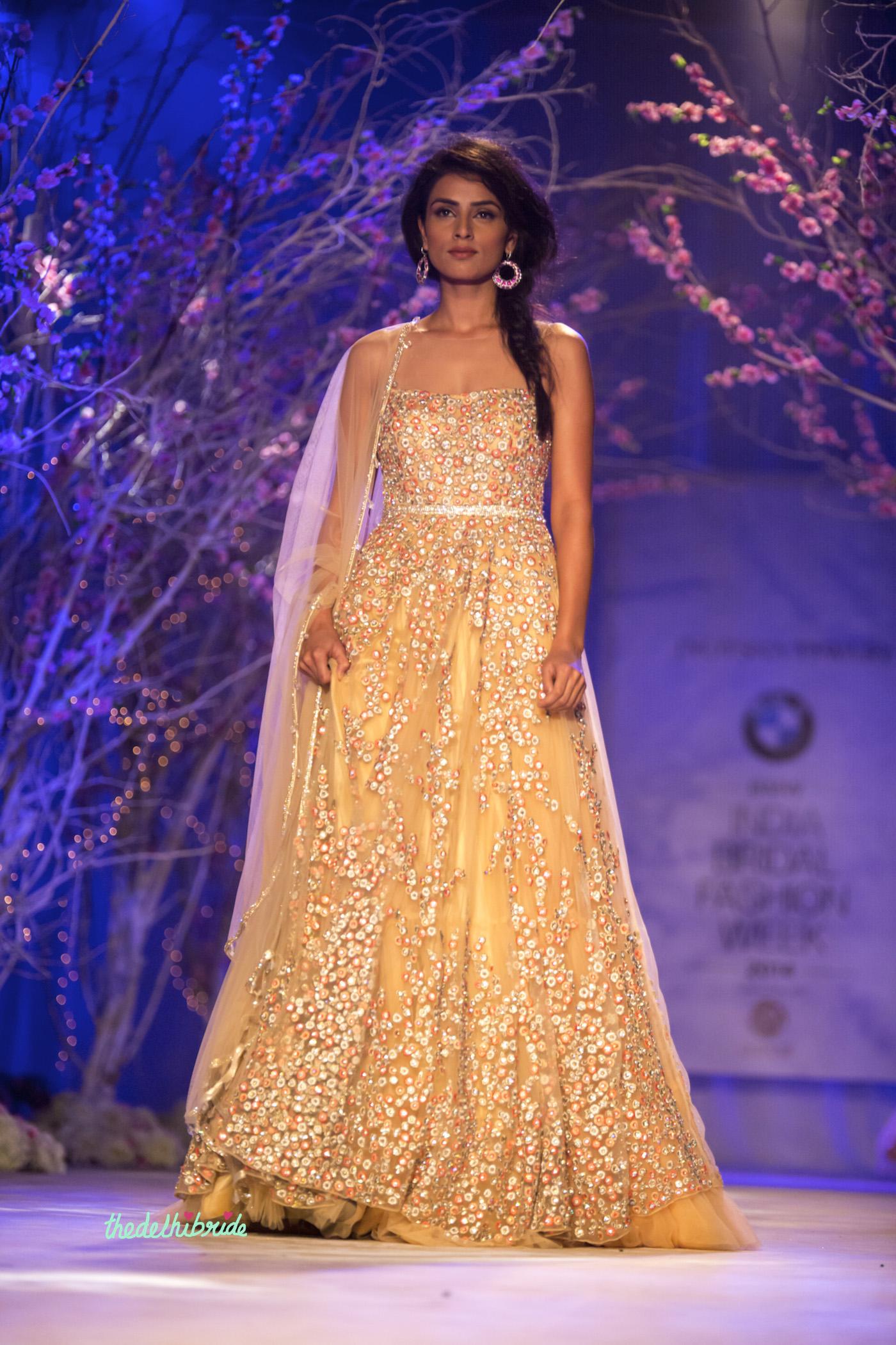 Jyotsna Tiwari at India Bridal Fashion Week 2014 – An