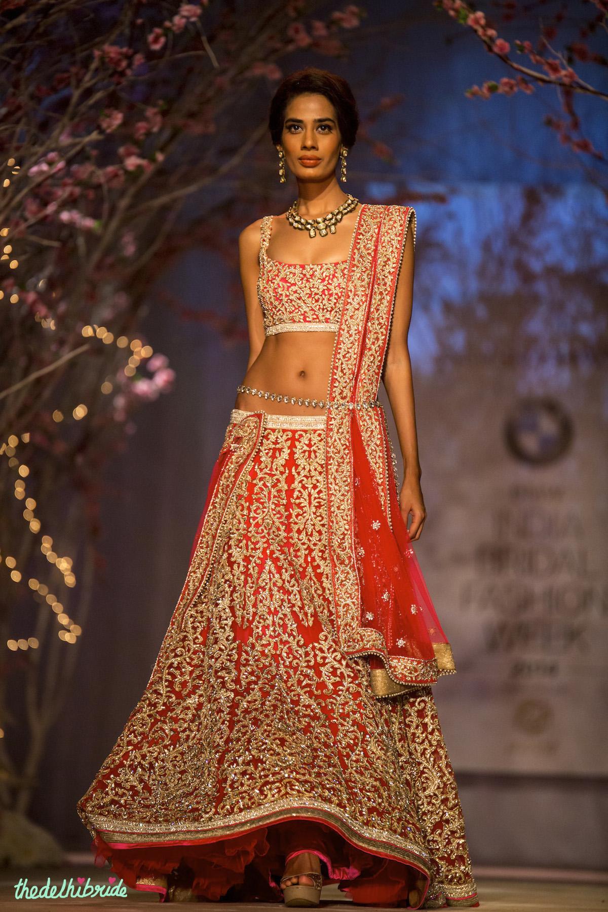Red bridal lehenga – An Indian Wedding Blog