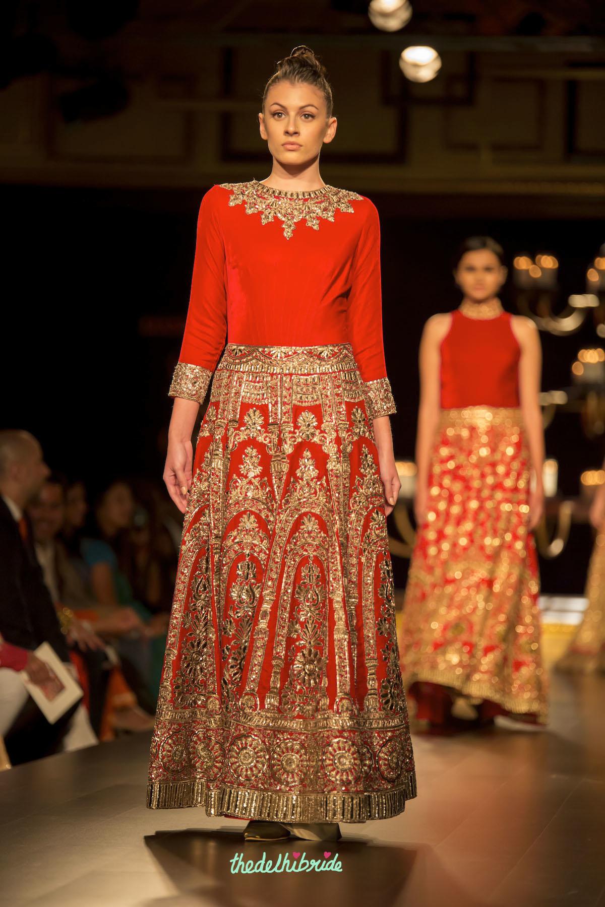 Manish Malhotra at Shree Raj Mahal Jewellers India Couture ... Sabyasachi Anarkali 2014