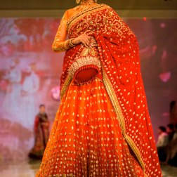 red lehenga Tarun Tahiliani India Bridal Fashion Week 2014
