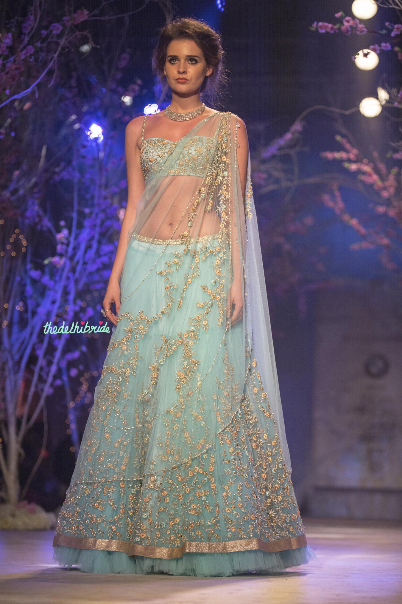 Jyotsna Tiwari at India Bridal Fashion Week 2014