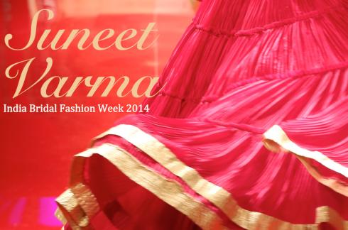 Suneet Varma India Bridal Fashion Week 2014 cover photo