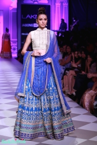 The Best of Anita Dongre Lakme Fashion Week 2014 blue lehenga