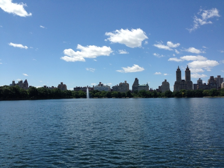 where to visit central park lake reservoir