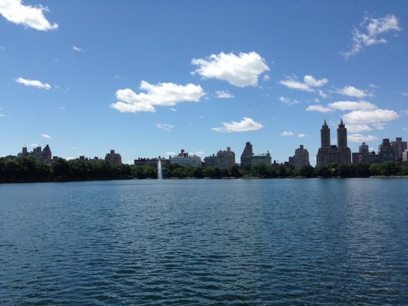 where to visit central park lake reservoir