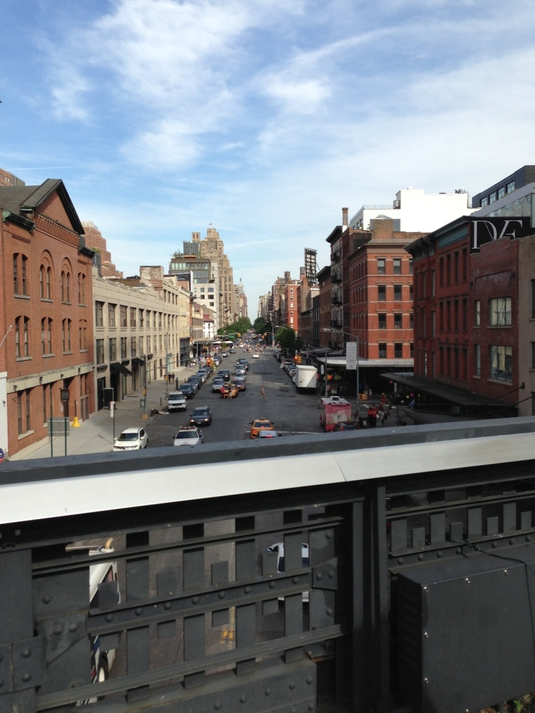 where to visit the highline