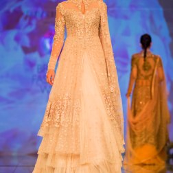 white jacket lehenga 1 Tarun Tahiliani India Bridal Fashion Week 2014