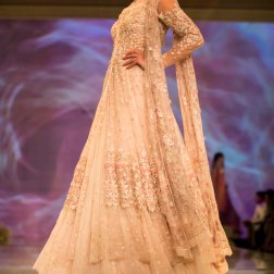 white jacket lehenga 2 Tarun Tahiliani India Bridal Fashion Week 2014