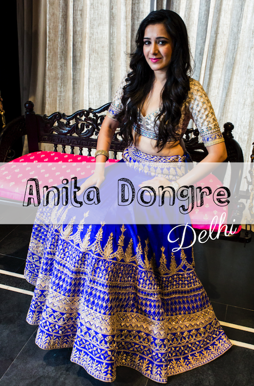 Anita Dongre Trousseau Destination DLF Emporio delhi bridal store