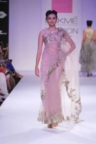 Anushree Reddy pastel sari