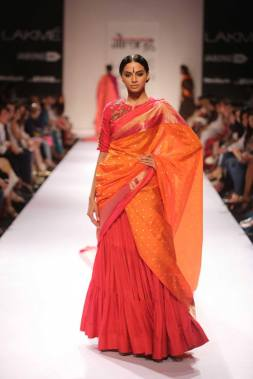 Guarang beautiful orange dupatta
