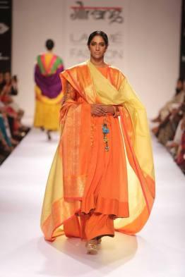 Guarang orange and yellow suit